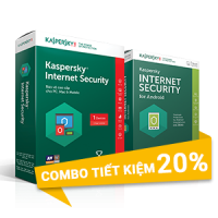 Combo Kaspersky 1 (1 PC + 1 Mobile /Năm)