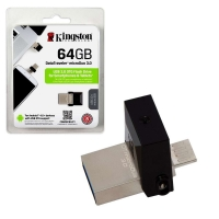 USB OTG 2.0 64GB Kingston DT DUO