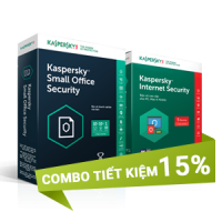 Combo Kaspersky 3 (15 PCs + 10 Mobile + 1 Server)