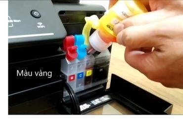 Thay mực máy in